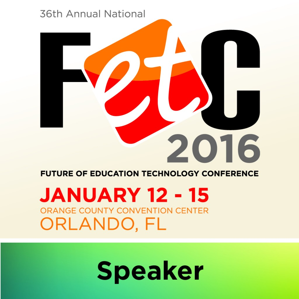 Proud to present at FETC 2016!